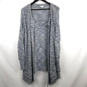 J.Jill oversized knit cardigan slouchy L sweater